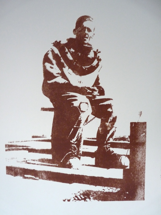Young Diver (Lithograph)