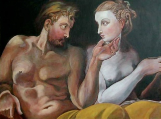 Ulysses and Penelope – After Primaticcio (Private Collection)