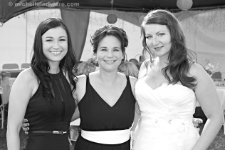Friends with the Bride (B/W)