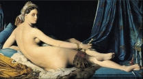 Oil Painting, 1814, by Jean Auguste Dominique Ingres
