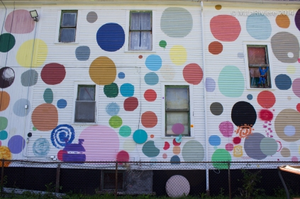 Side of the Polka Dot House