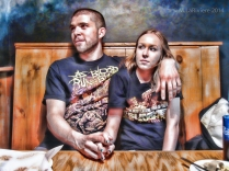 Young Metal Couple