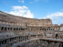 Colosseum Hypogeum and Stage Left