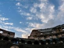 Colosseum Roman Sky