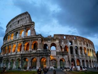 Colosseum Night Falling